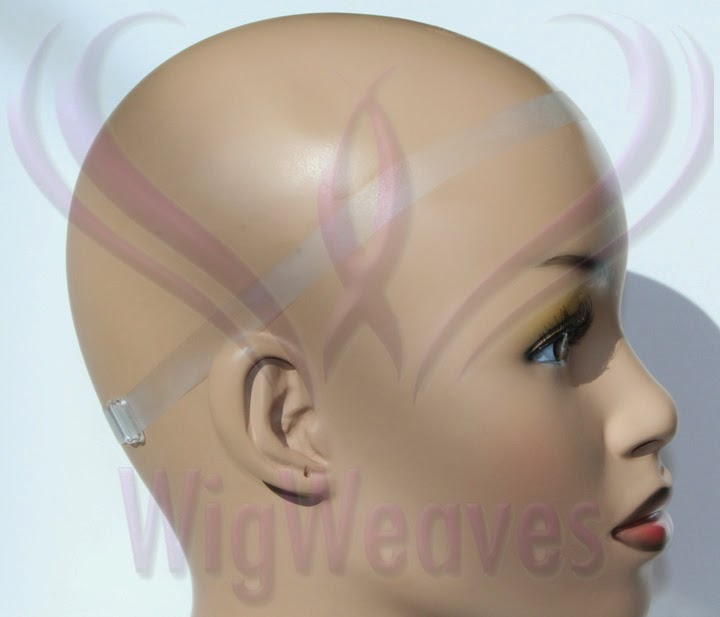 Lace Wig Straps - Clear