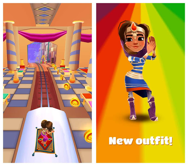 Subway Surfers Arabia Unlimited Coins And Keys