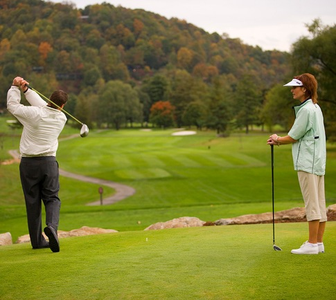 golf courses near waynesville nc