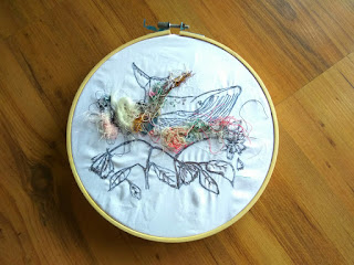 Agy Lee Textiles - Free Motion Embroidery, Upcycling, Natural Dyes