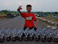 Miliki Segudang Prestasi, Pembalap Cilik Asal Lampung Ini Targetkan Juara Nasional