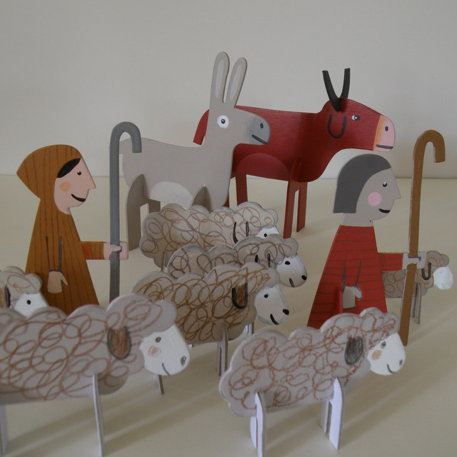 Make Your Own Nativity Sets