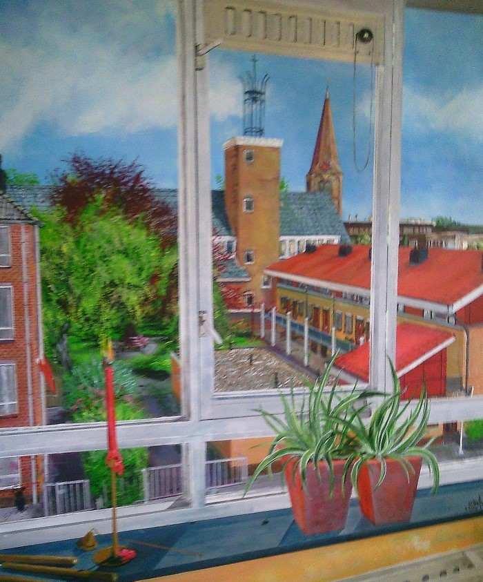 Нидерландский художник. Ambrosius Louwe (Ambro)