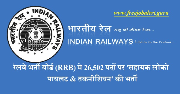 Government of India, Ministry of Railways, Railway Recruitment Boards, RRB, Railway, Railway Recruitment, RRB, RRC, Indian Railways, Railway Recruit Cell, 10th, ITI, Assistant Loco Pilot, Technician, Latest Jobs, Hot Jobs, rrb logo