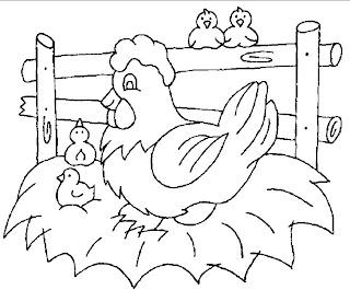 Desenhos De Animais Para Colorir Atividades Pedagógicas