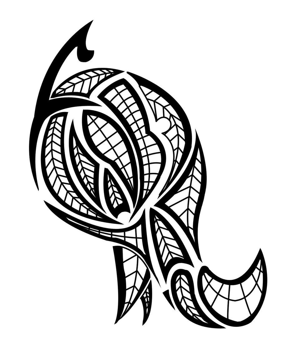 Maori Tribal Tattoo Design: THE BLACK TATTOOS: July 2012