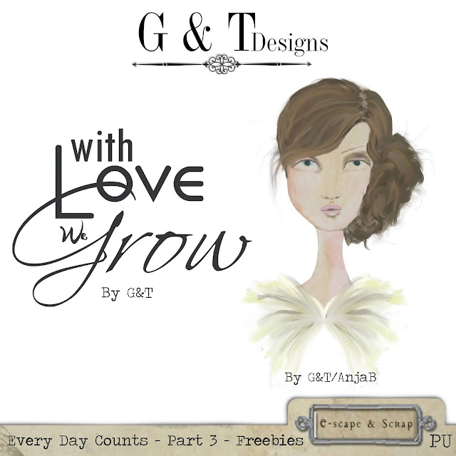 G&T Designs - Every Day Counts - Part 3 & Freebie
