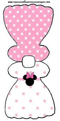 Minnie Rosa Kit Completo Com Molduras Para Convites Rotulos