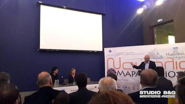 """Παρουσία του κριτικού κινηματογράφου Θ. Κουτσογιαννόπουλου έγινε η προβολή της ταινίας  """"Ο Τερματισμός"""" στο Ναύπλιο"""