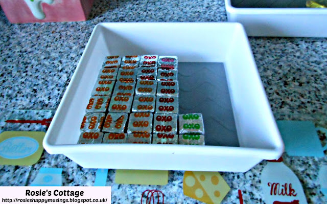 Smallest Organizer Tray In The Set Used To Store Stock Cubes By The Hob