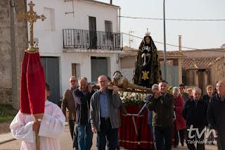 Procesión del Viernes Santo en Naharros