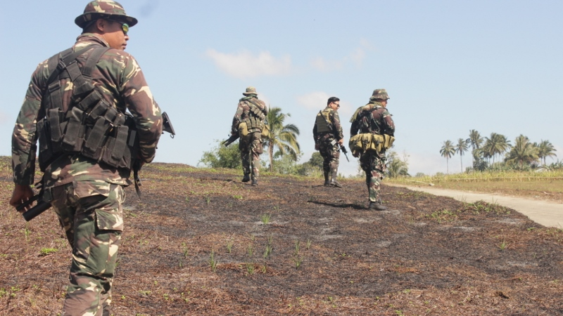 soldiers in guimba