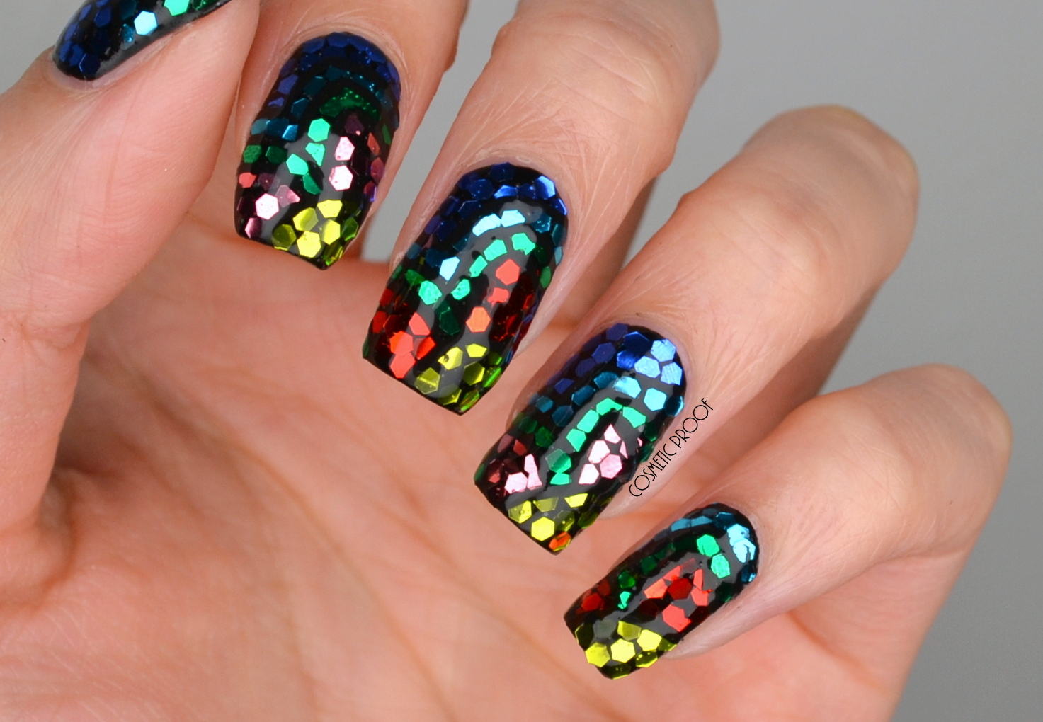 Nails Bcd Nail Art Challenge Week 4 Mosaic Stained