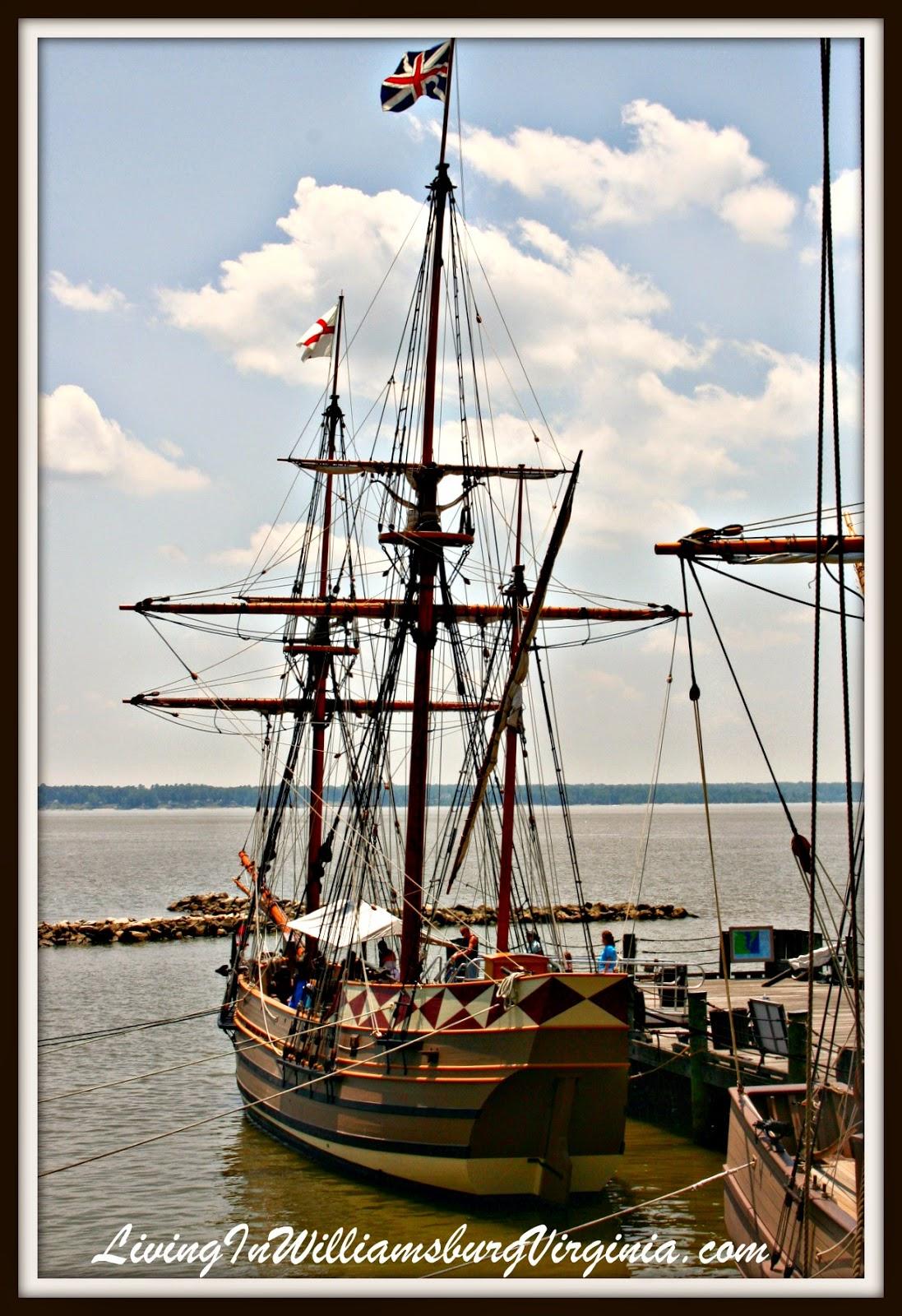 Living In Williamsburg Virginia Godspeed Jamestown