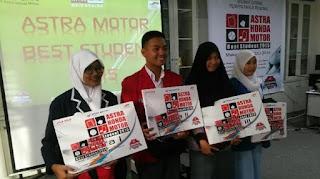 Astra Honda Motor Best Student 2015, Jumat (31/7/2015)