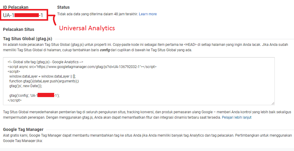 tracking id google analytics - #IRVANGEN