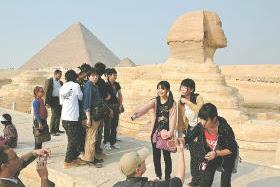 被災した福島県、宮城県、岩手県の中学生、高校生・エジプト訪問