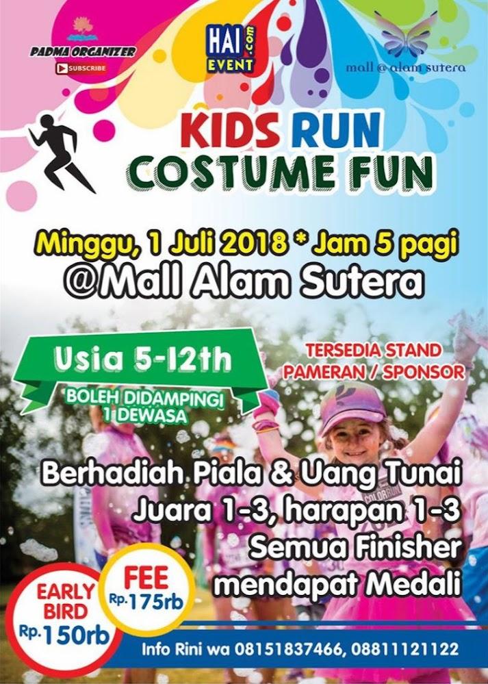 Kids Run Costume Fun • 2018