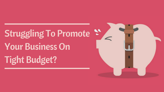 Struggling To Promote Your Business On Tight Budget?