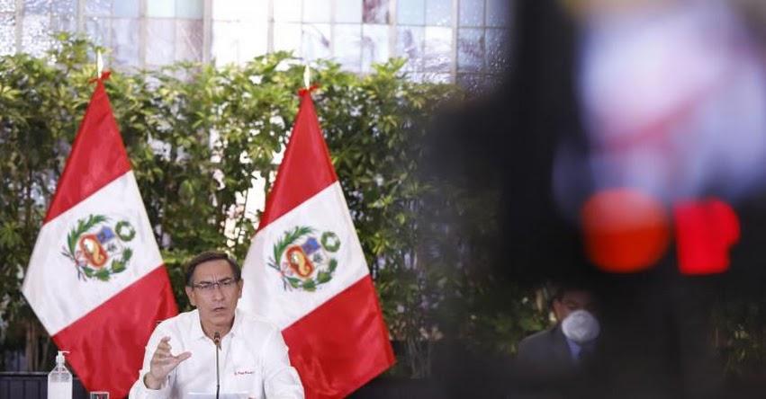 Presidente Martín Vizcarra brindará nueva conferencia tras ampliación de emergencia hasta el 12 de abril