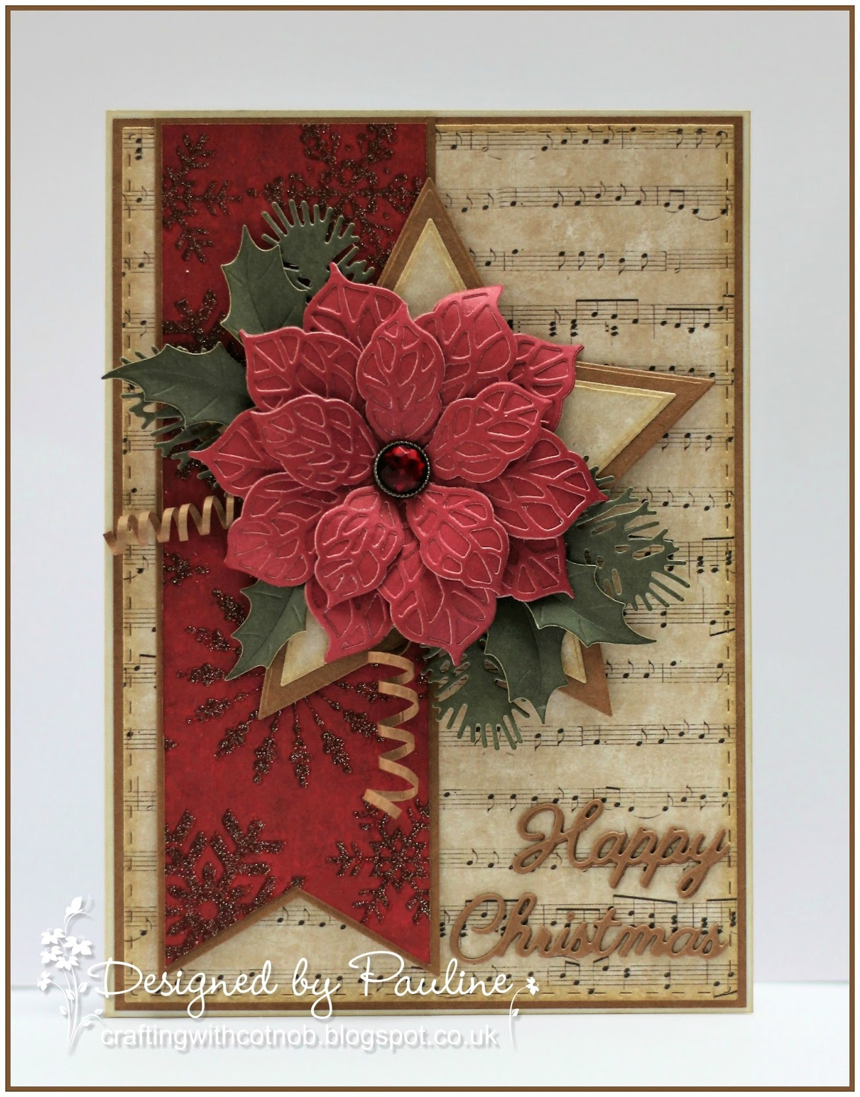 Crafting with Cotnob: Traditional Christmas