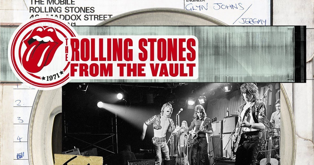OMISSO RECORDS: Rolling Stones - CD From The Vault : The