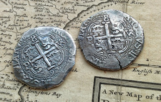 Real de a Ocho - monedas de plata