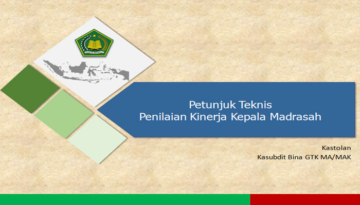 Download Juknis Penilaian Kepala Madrasah MA SMAK