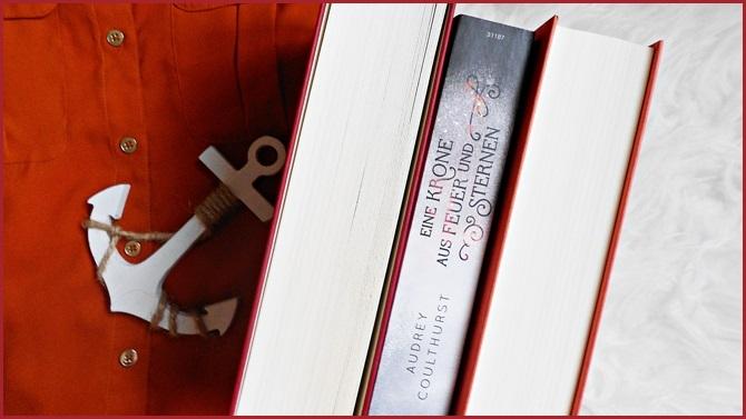 Eine Krone aus Feuer und Sternen Feuerhimmel Sternennacht Of Fire and Stars cbj LGBTQ queer High Fantasy Jugendbuch