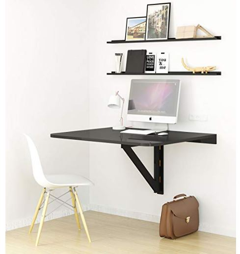 Fold up desk tables for small spaces