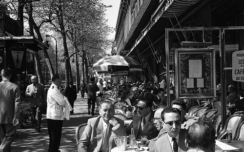 Black And White Photos Of Paris In 1960 Vintage Everyday
