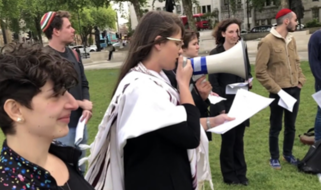"""Radical Left Group IfNotNow in New York and London Saying Kaddish for Hamas Terrorists"""