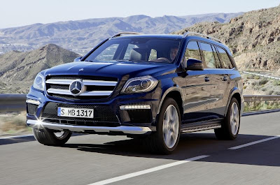 New Mercedes-Benz GL
