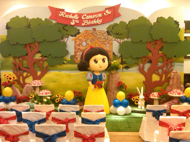 Dekorasi Kids Birthday party (pesta ultah anak)