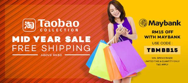 Taobao Malaysia Lazada Voucher Code Maybank Card Discount