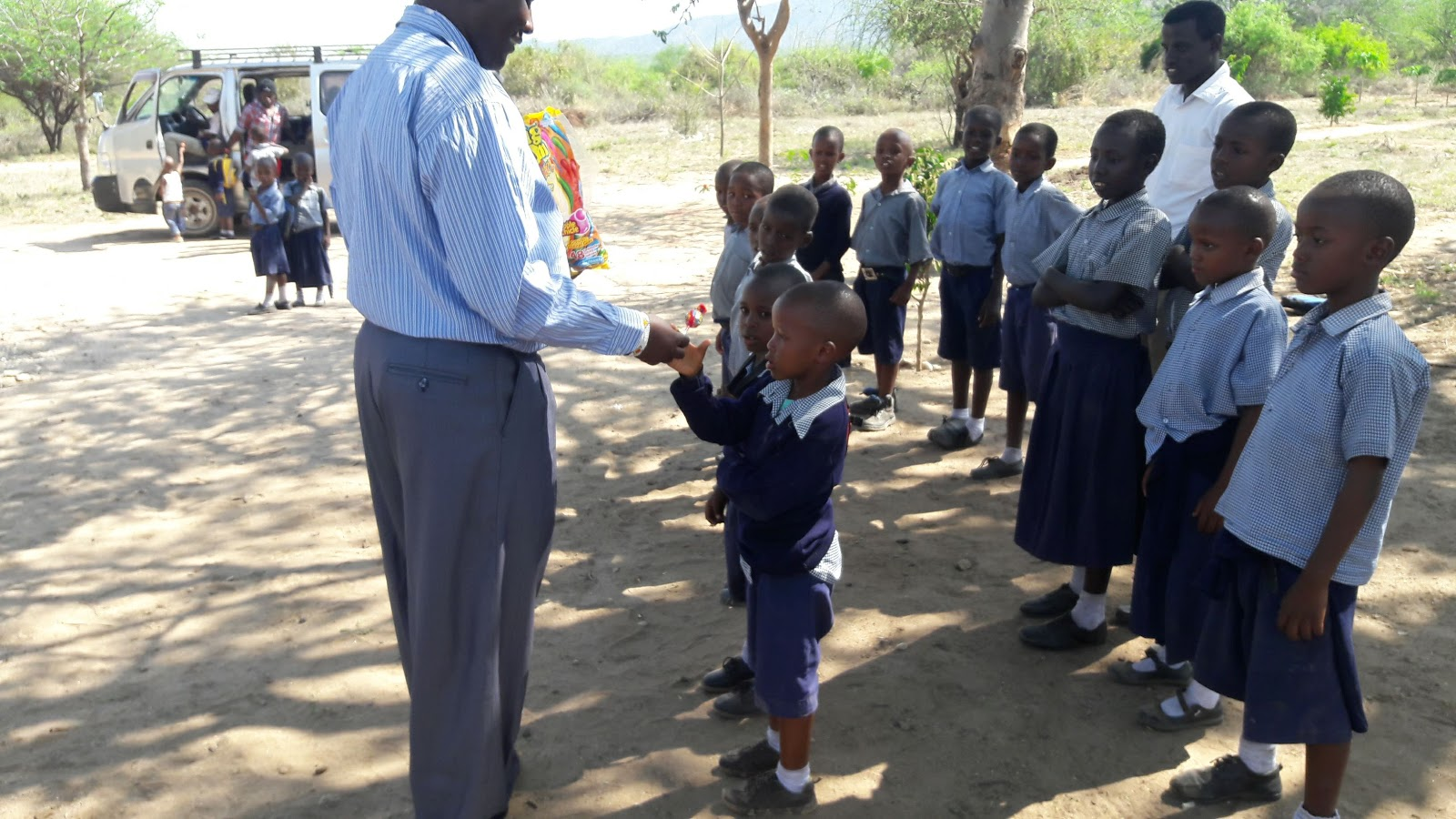 Steve and Barnabas in Tanzania: Teaching Duty, Kids are ...