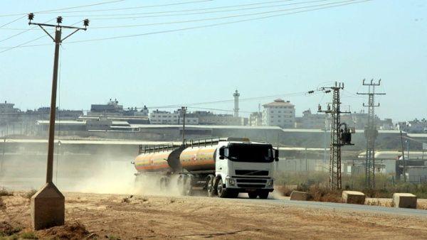 Israel cesa de inmediato distribución de combustible en Gaza