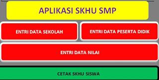 Aplikasi SKHU Jenjang SMP