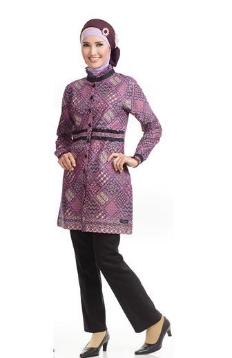 Model Baju Batik Atasan Wanita Gemuk Yang Modis