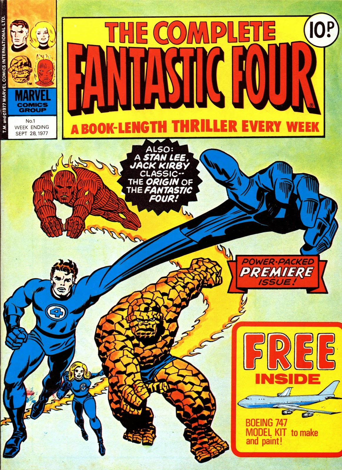 Crivens Comics Amp Stuff The Complete Fantastic Four Cover