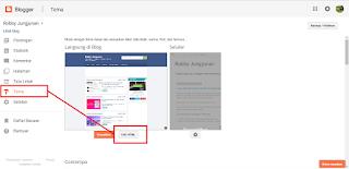 cara menghapus judul blog