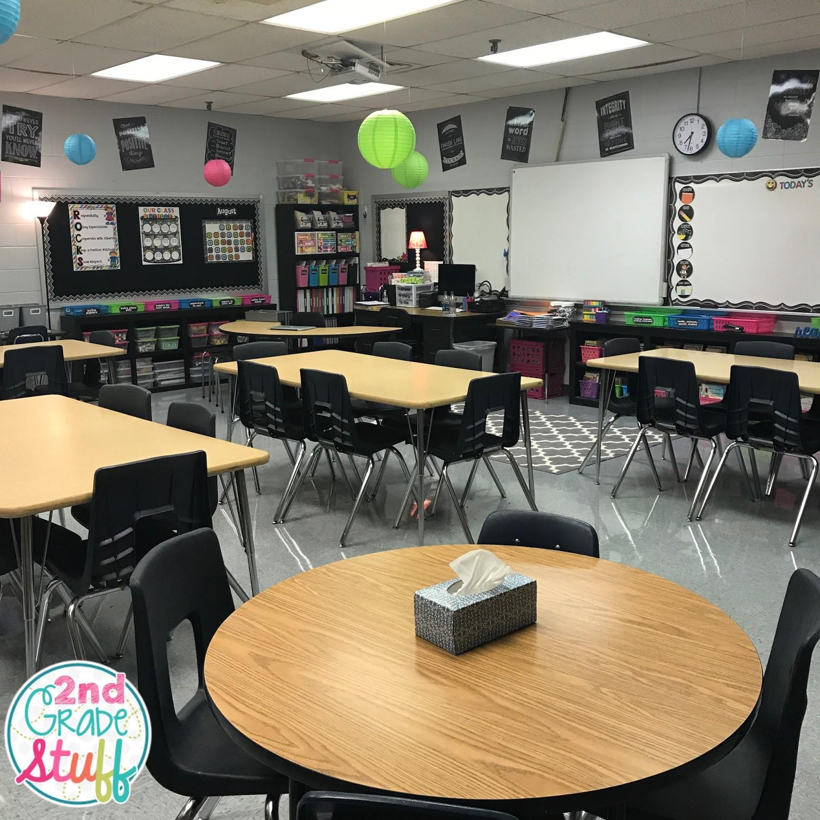 Classroom Design For Grade 8 ~ Nd grade stuff classroom reveal