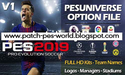 Pro Evolution Soccer 2019 Ps4 Option File Download