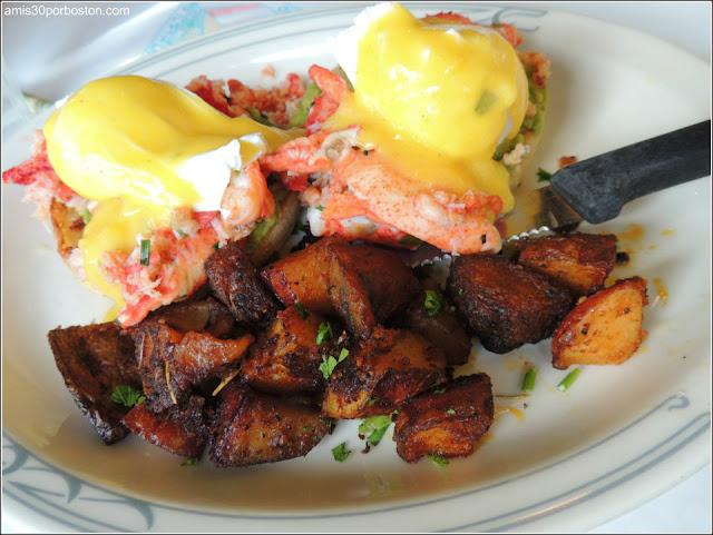 Lobster Eggs Benedict $24