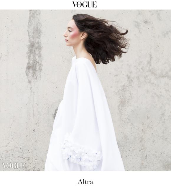 VOGUE Italia publica la nueva campaña del diseñador GMBYJE fotografiada por David Rodríguez