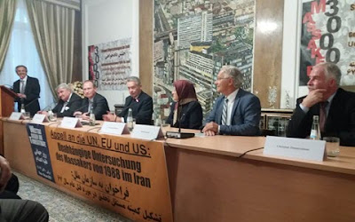 Conference Held in Support of 'Justice Seeking Movement' in Berlin