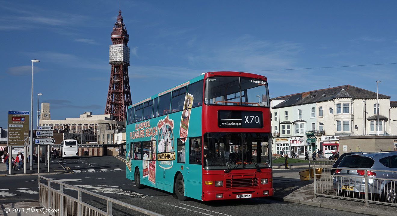 Blackpool Tram Blog: Olympian On The Red Rocket