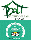 Tripadvisor Hall Of Fame Award winning Bali Luxury Villas