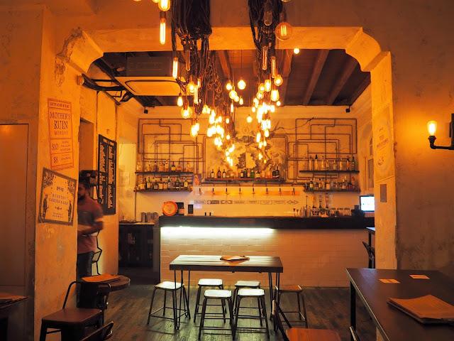 Hippe Bar in Singapur