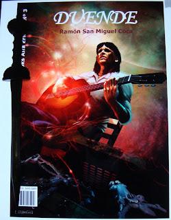 Portada del libro Duende, de Ramón San Miguel Coca